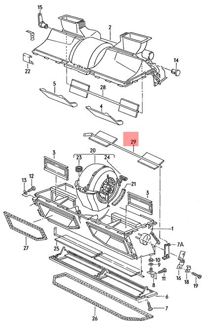 Rear Heater Core For 83-91 VW Vanagon 1.9L H4 GP36N4 Heater Core