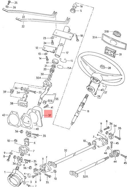 Vanagon Rear Suspension Diagram