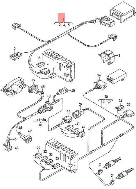 [SCHEMATICS_4FD]  Genuine Volkswagen Airbag Wiring Harness NOS VW Passat 4Motion 3A1971581A    eBay   Vw Airbag Wiring Diagram      eBay