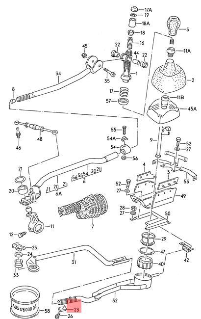 Genuine Clamping Piece Audi 100 Avant Quattro 200 5000 Turbo A6 S6
