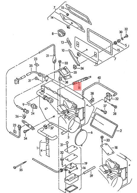 Genuine Restrictor Valve Audi Vw 100 Quattro 80 90 A4 Wagon S4