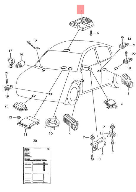 Genuine Audi Vw A3 S3 Sportback Lim Quattro Sliding Roof Motor