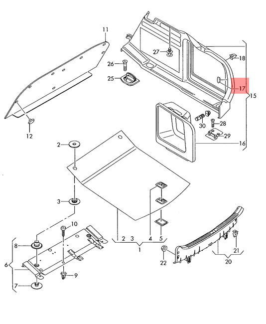 Audi Q5 Drawing