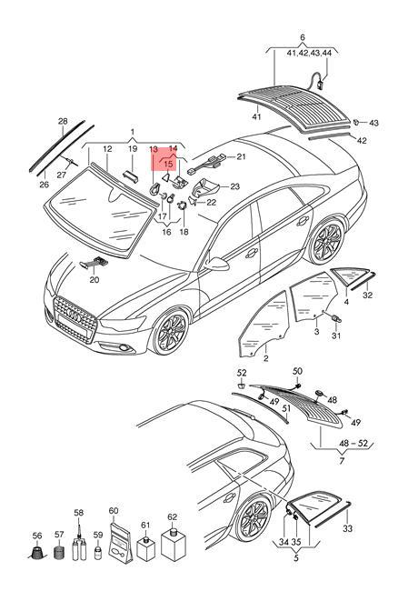 Genuine Trim Audi A6 Allroad Qu Quattro Avant S6 A6l A7 Sportback