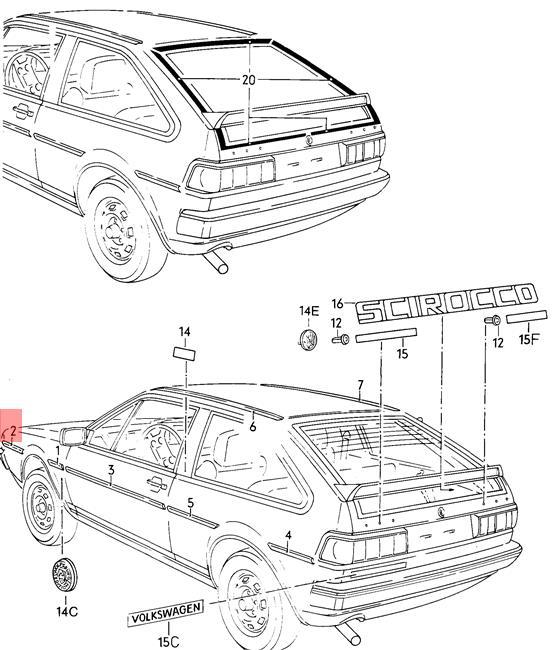 Volkswagen Scirocco Car