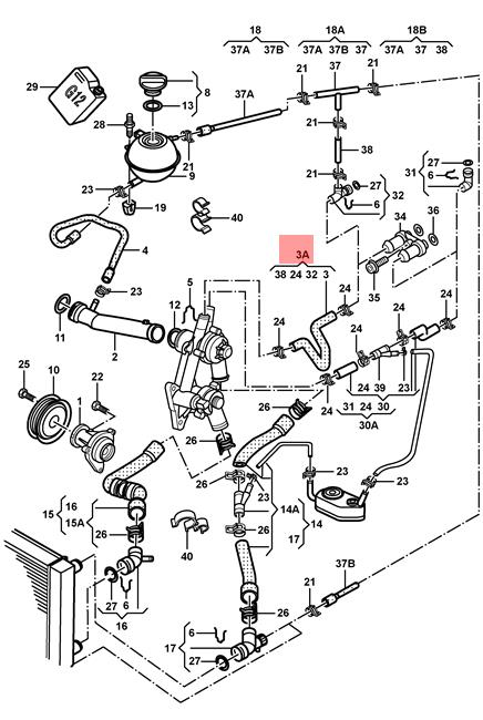 Skoda Engine Cooling Diagram