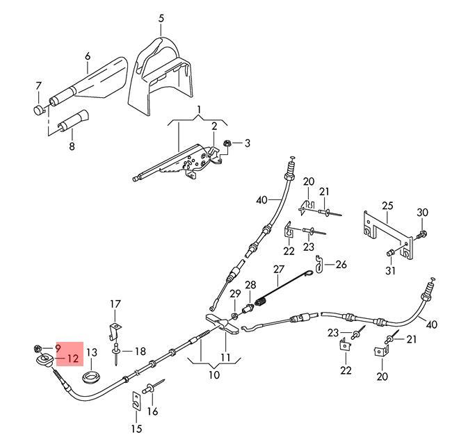 Details About Genuine Seal Vw Amarok Cmobile Typ2 Transp Lt Cmobilet5 T6 7h0711489: Vw Amarok Engine Diagram At Downselot.com