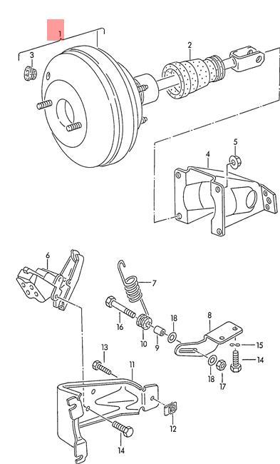 Volkswagen Brake Diagram