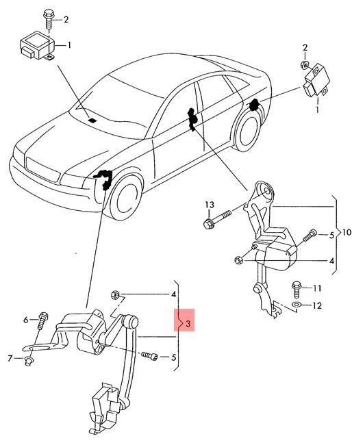 2004 Audi S4 Intake Manifold Diagram