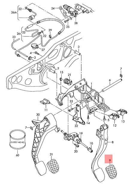 Audi Brake Diagram