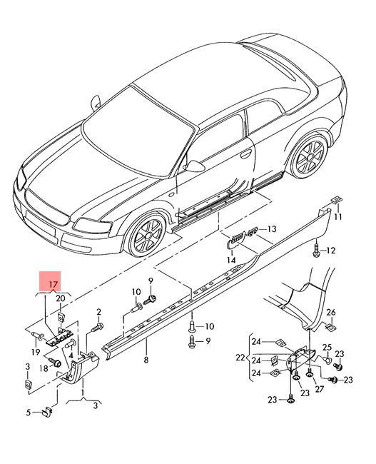 01 Audi A4 Stanced