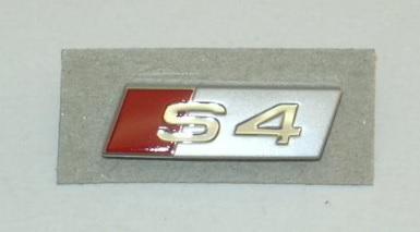Genuine GT TSI Badge AUDI A4 Avant S4 Cabrio quattro 8E 8EC 8ED 8E0419685