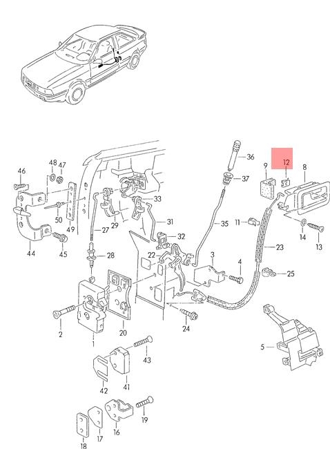 Audi 90 B3 Wiring Diagram