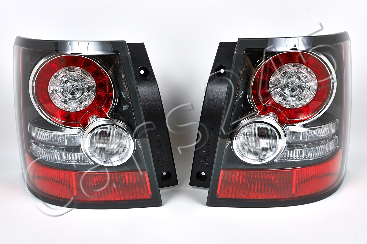 land rover range rover sport 09 2012 led tail lights rear. Black Bedroom Furniture Sets. Home Design Ideas