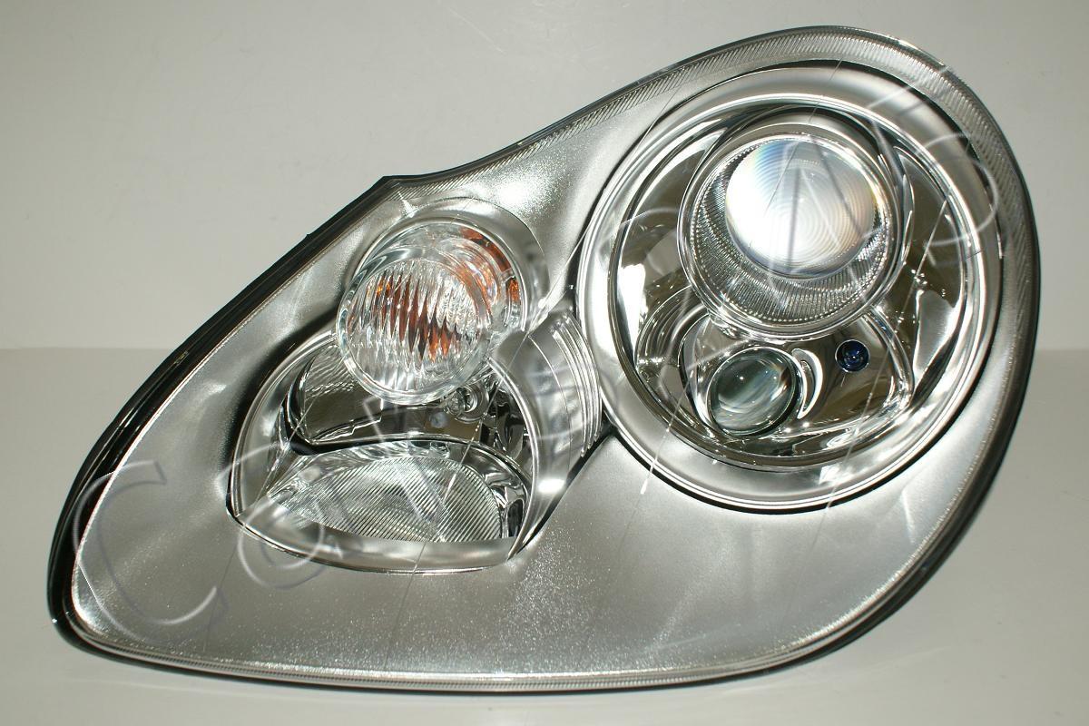 porsche cayenne 9pa 2003 2006 bi xenon headlight front. Black Bedroom Furniture Sets. Home Design Ideas