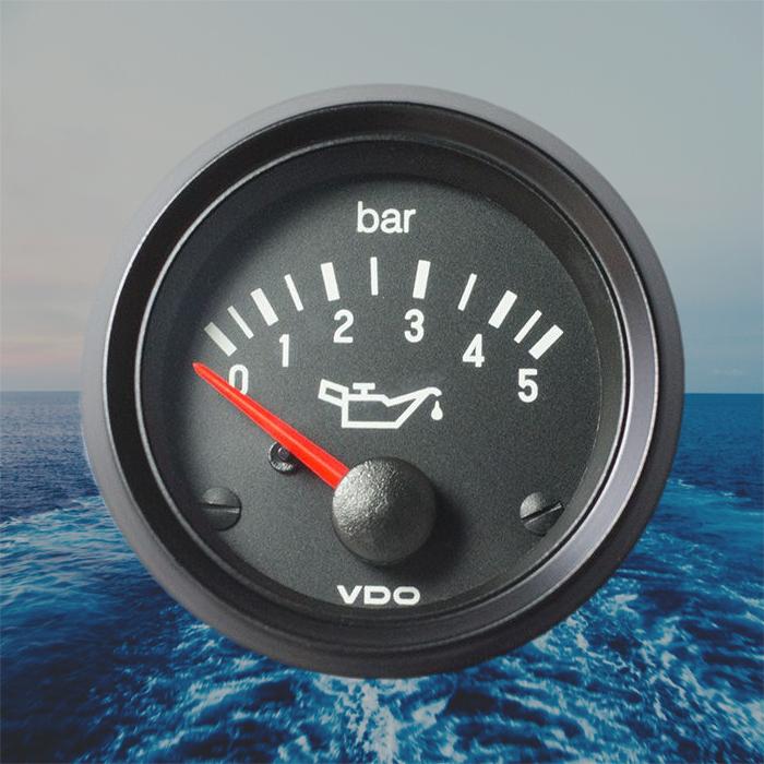 VDO International Jauge de Pression D/'Huile 5 Bars
