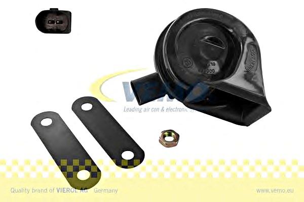 TOPRAN Horn 111071 für SEAT SKODA VW